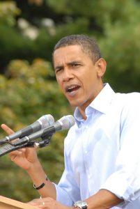 Barack Obama gilt als ein perfekter Redner und Vorbild für alle Speaker